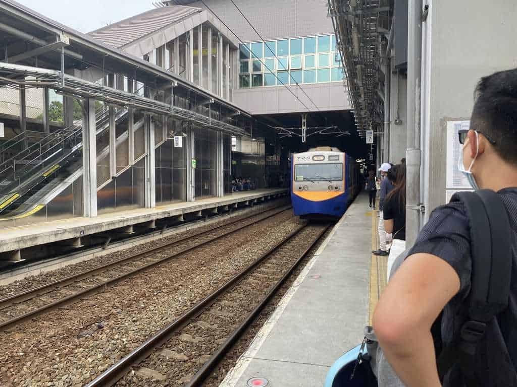 前往內壢火車站